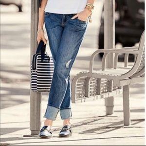 Cabi #3165 Mojave Slim Boyfriend Jeans 8 EUC